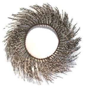 NWOT Pussy Willow Wreath all season wire frame